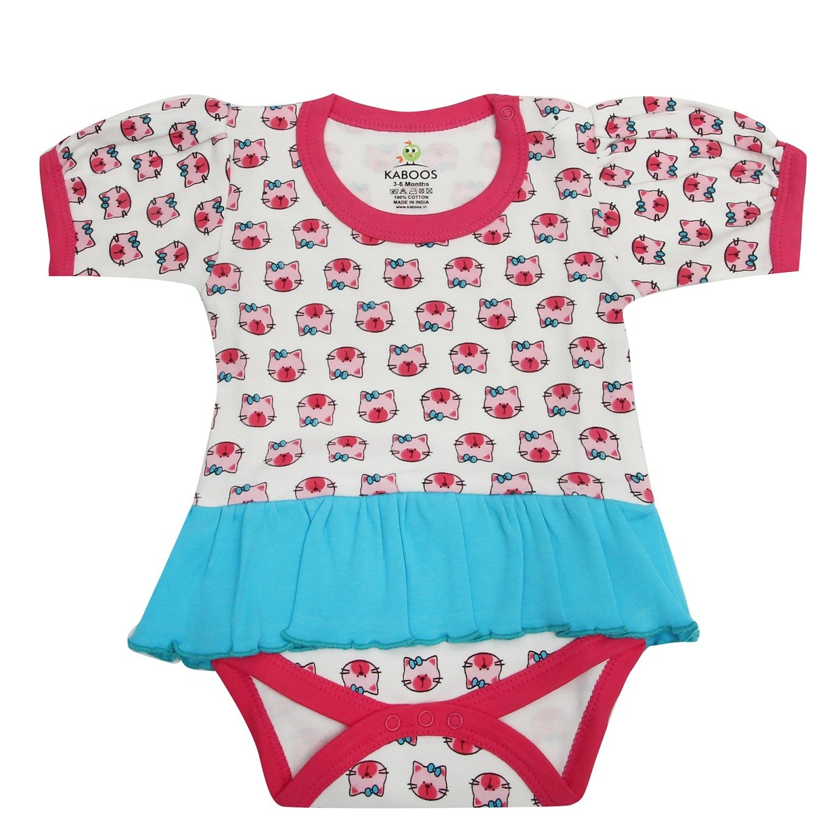 505ea60a007e 100% cotton over all printed romper for baby girl s