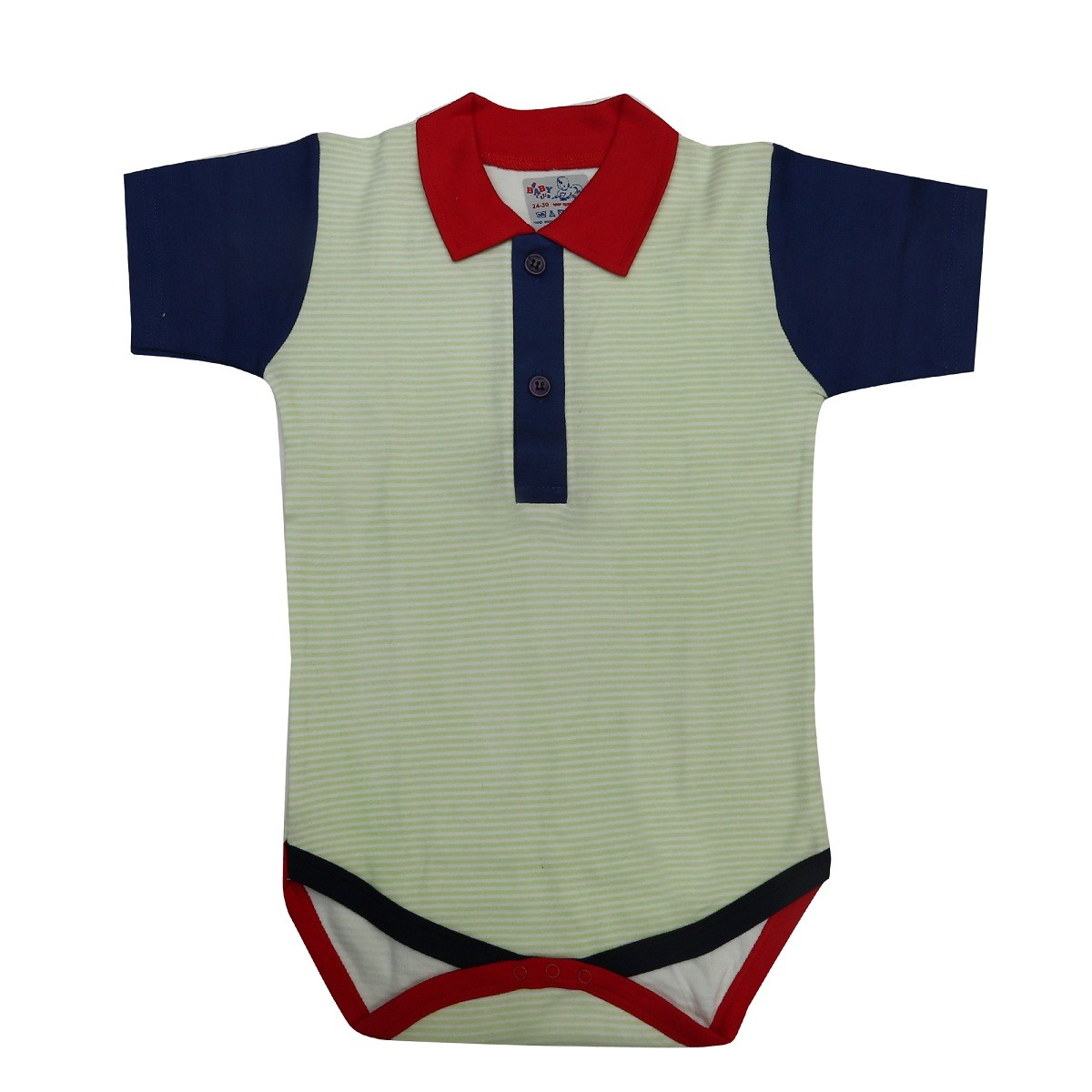 fc8bb3b9b6d5 Kaboos 100% Cotton Multicoloured Baby Bodysuit